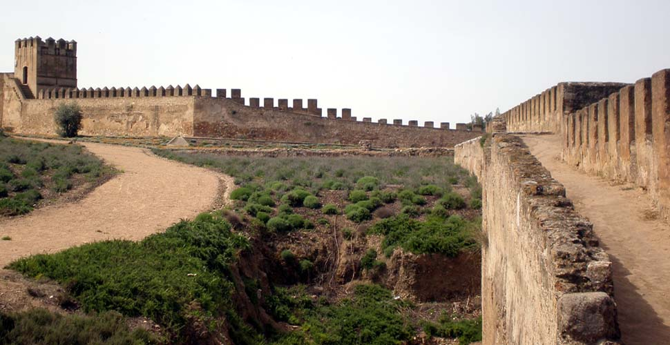 Visitas Guiadas a las Murallas de la Alcazaba Árabe de Badajoz con Antonio Carrasco,. Guía de Turismo