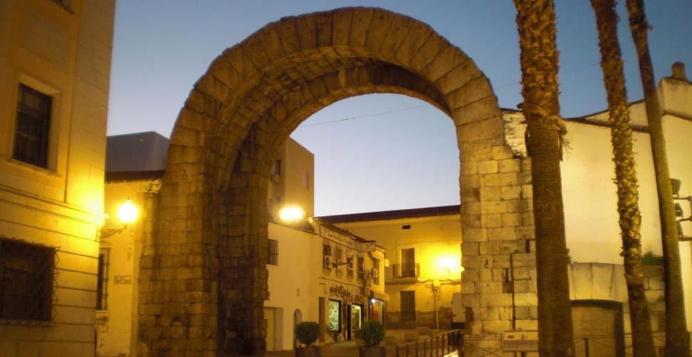 Arco de Trajano en Mérida